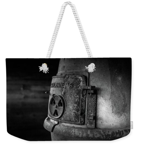 An Antique Stove Weekender Tote Bag
