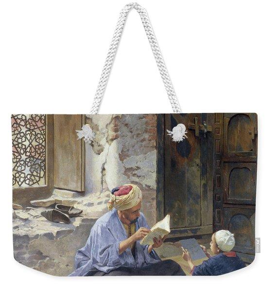 An Arab Schoolmaster Weekender Tote Bag
