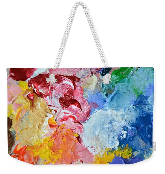 An Artful Blend Weekender Tote Bag