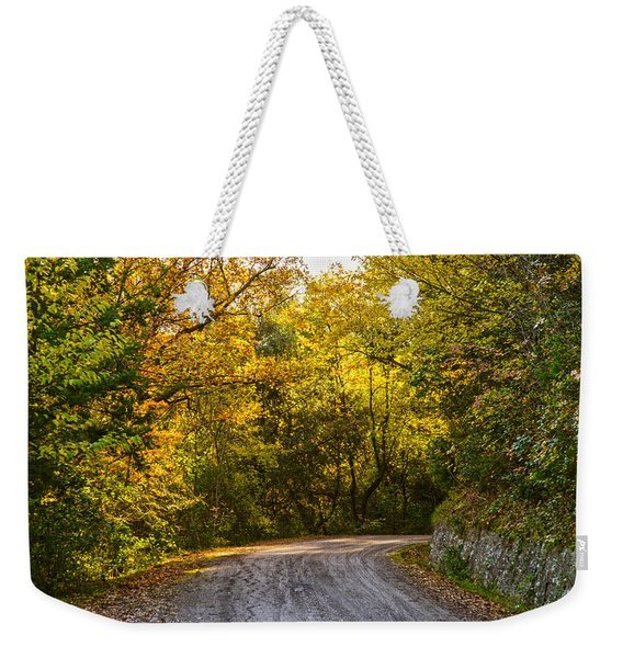 An Autumn Landscape - Hdr 2  Weekender Tote Bag