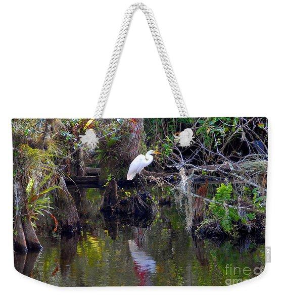 An Egrets World Weekender Tote Bag