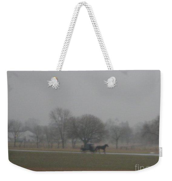 An Evening Buggy Ride Weekender Tote Bag