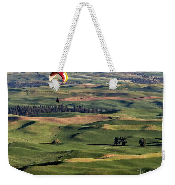 An Evening Flight Agriculture Art By Kaylyn Franks Weekender Tote Bag