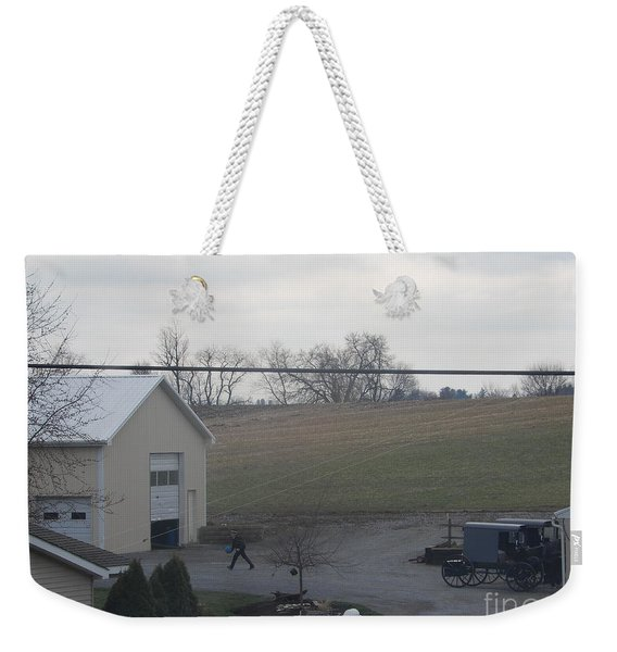 An Evening Game Weekender Tote Bag