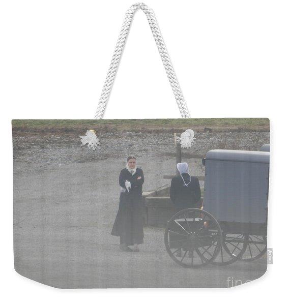 An Evening Goodbye Weekender Tote Bag
