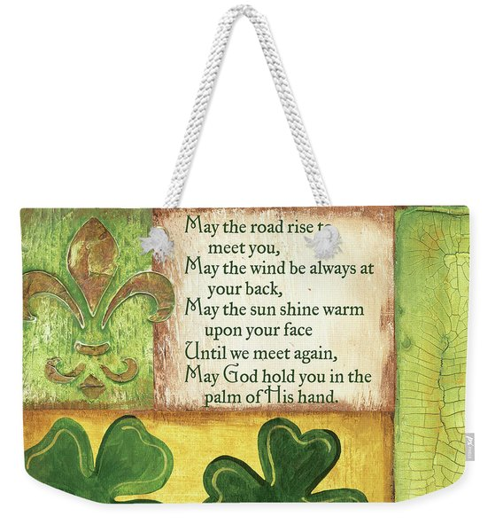 An Irish Blessing Weekender Tote Bag