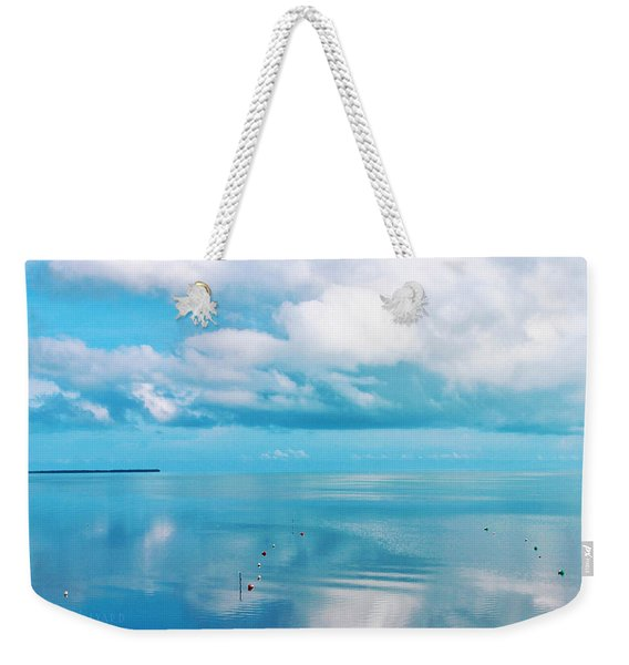 An Ocean Like Glass Weekender Tote Bag