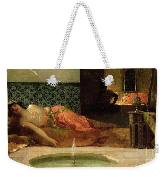 An Odalisque In A Harem Weekender Tote Bag