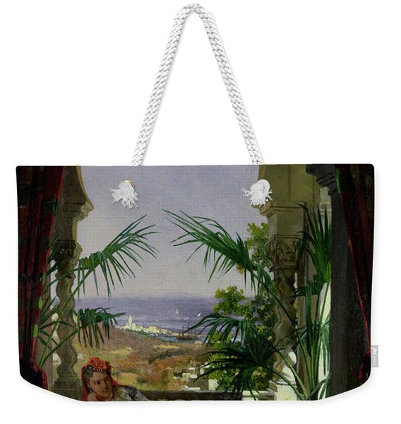 An Odalisque On A Terrace Weekender Tote Bag