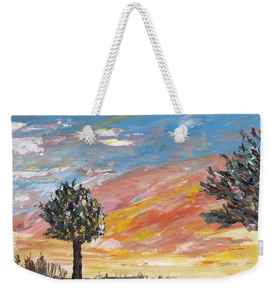 An Ohio Sunset Weekender Tote Bag
