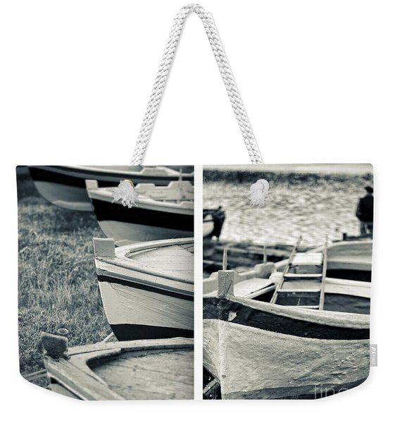 An Old Man's Boats Weekender Tote Bag