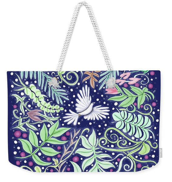 An Opening For A Dove Weekender Tote Bag