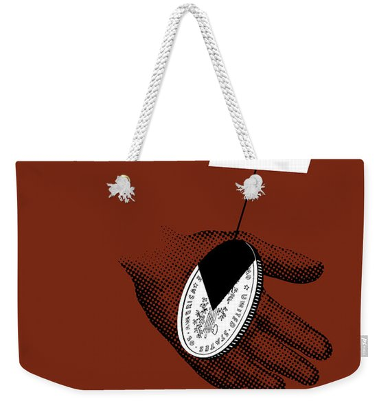An Overcharge Is The Same As A Pay Cut Weekender Tote Bag