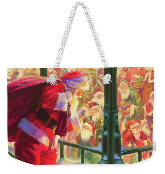 An Unforeseen Encounter Weekender Tote Bag