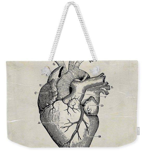 Anatomical Heart Medical Art Weekender Tote Bag