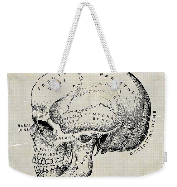 Anatomical Skull Medical Art Weekender Tote Bag