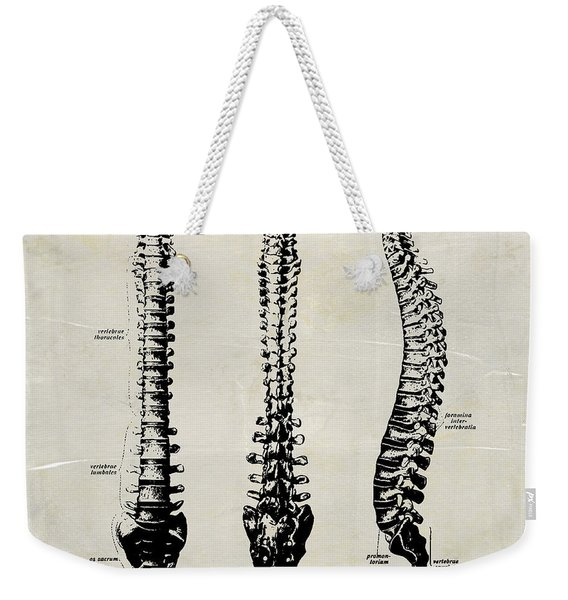 Anatomical Spine Medical Art Weekender Tote Bag