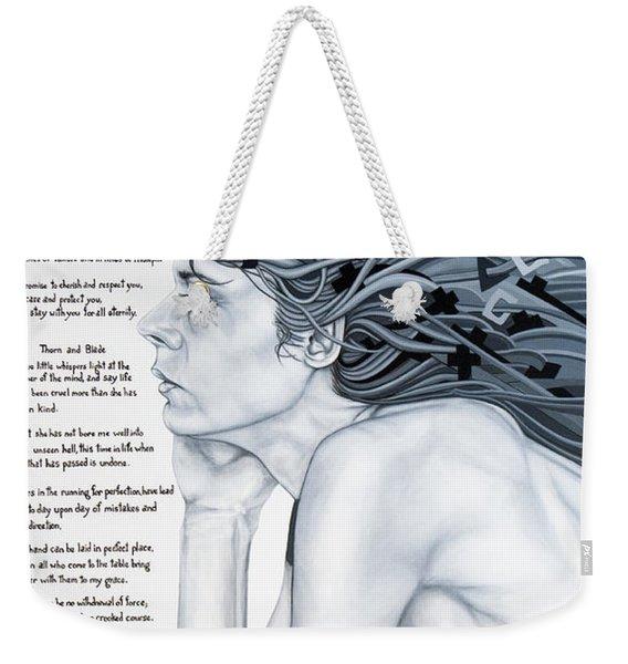 Anatomy Of Pain Weekender Tote Bag