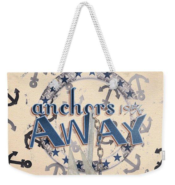 Anchors Away 1956 Weekender Tote Bag