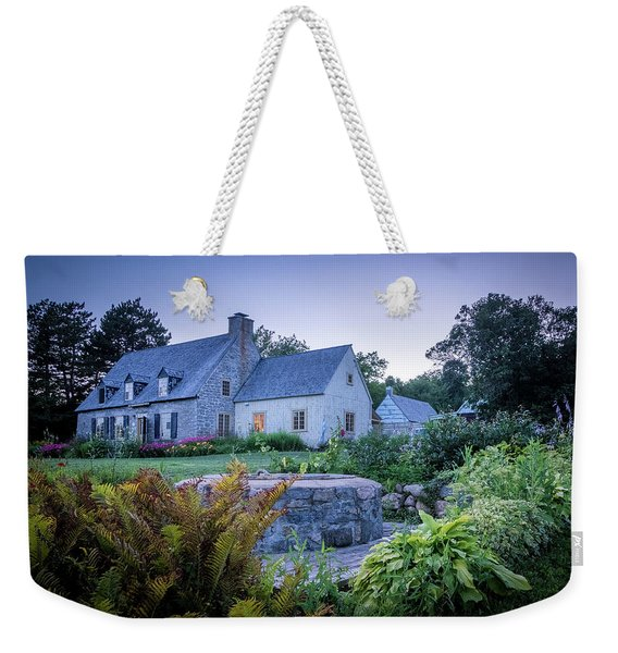 Ancienne Maison Bordeleau Weekender Tote Bag