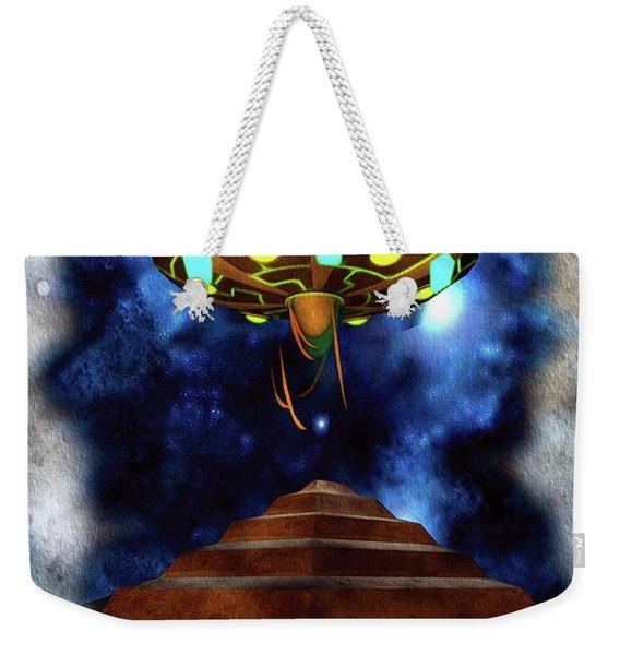 Ancient Aliens, Ufo In Egypt Weekender Tote Bag