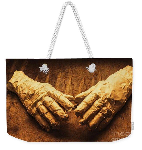 Ancient Egyptian Horror Weekender Tote Bag