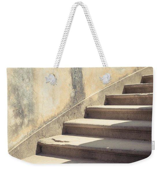 Ancient Stairs Weekender Tote Bag