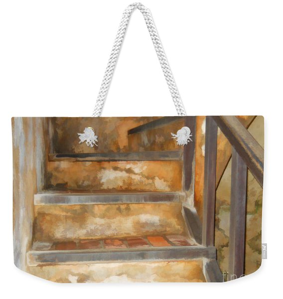 Ancient Stairway Weekender Tote Bag
