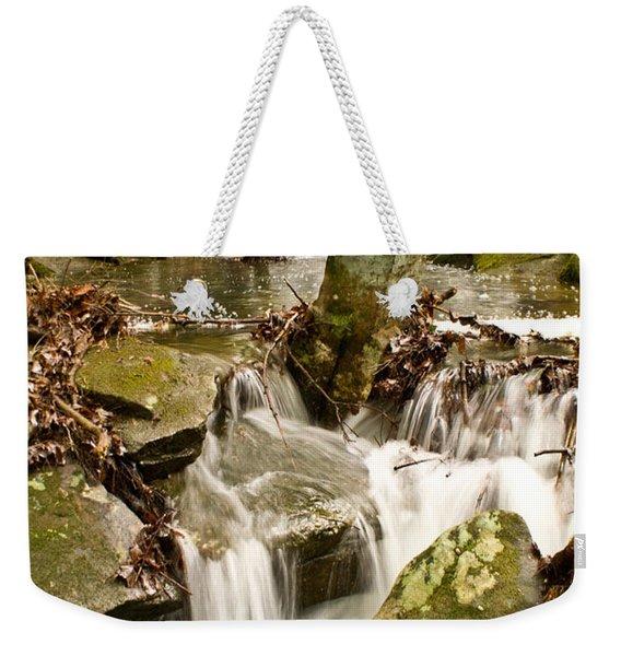Ancient Stream Weekender Tote Bag