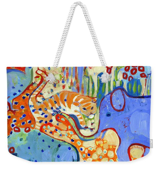 And Elephant Enters The Room Weekender Tote Bag