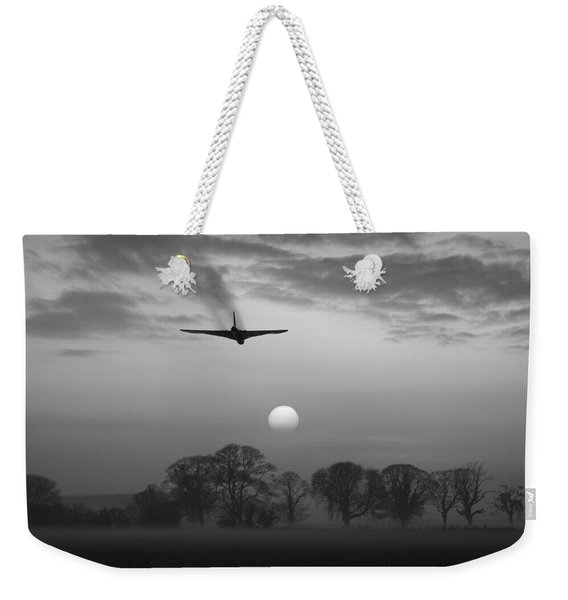 And Finally Black And White Version Weekender Tote Bag