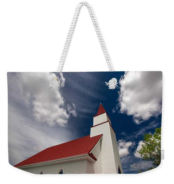 And The Clouds Parted Weekender Tote Bag