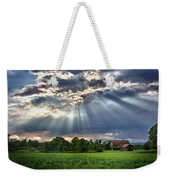 And The Heavens Opened 1 Weekender Tote Bag