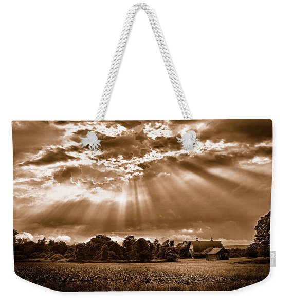 And The Heavens Opened 3 Weekender Tote Bag