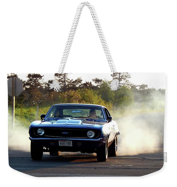 And Then He Lit Em Up For Me Weekender Tote Bag