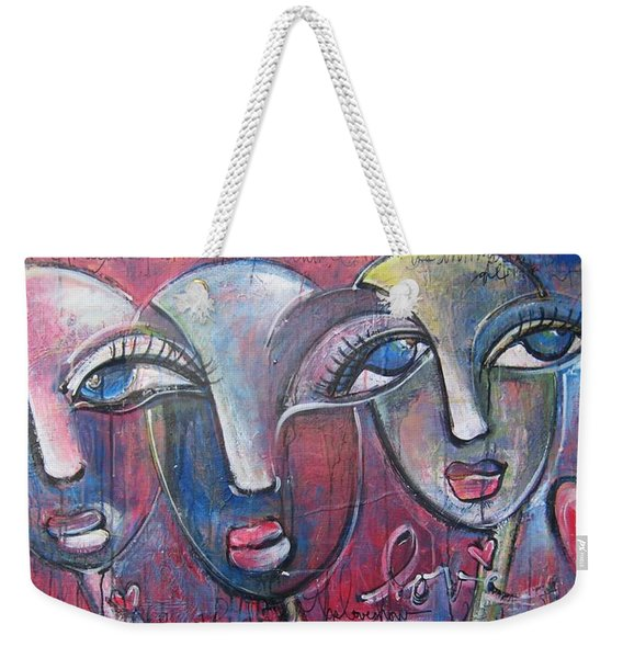 And Then There Were Three Weekender Tote Bag
