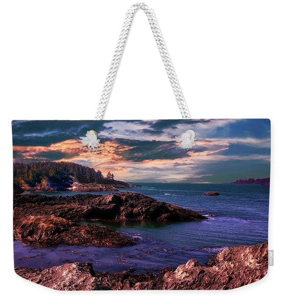 And There Was Morning And Evening On The Third Day Weekender Tote Bag