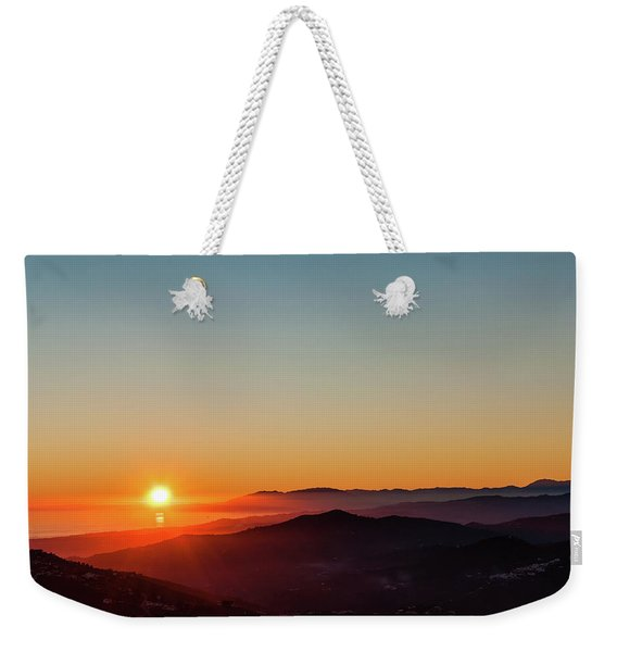 Andalucian Sunset Weekender Tote Bag