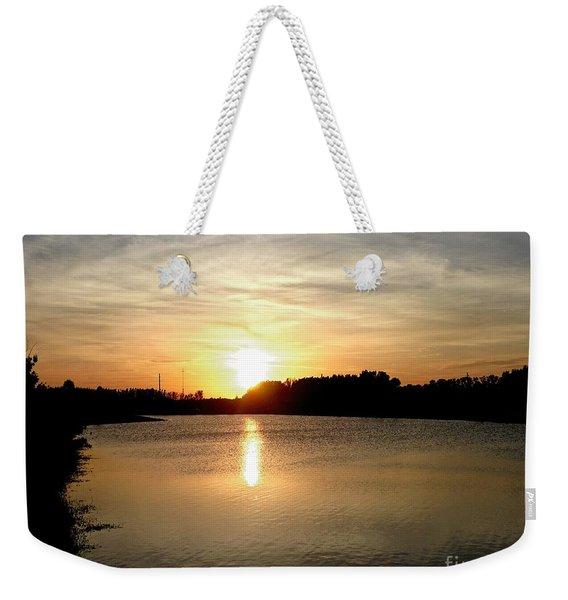 Anderson Stormwater Park In Rockledge Florida Weekender Tote Bag