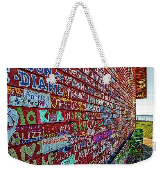 Anderson Warehouse Graffiti  Weekender Tote Bag