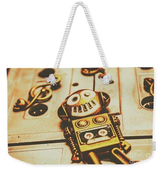 Android Rave Weekender Tote Bag
