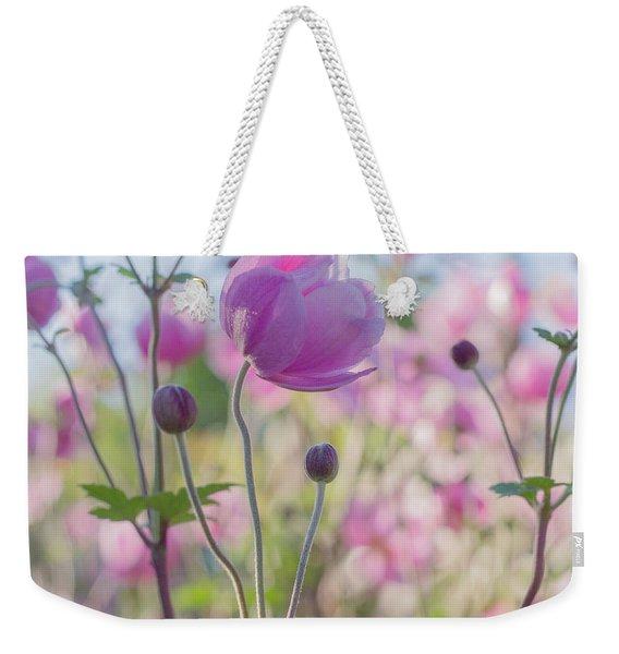 Anemone Softness  Weekender Tote Bag