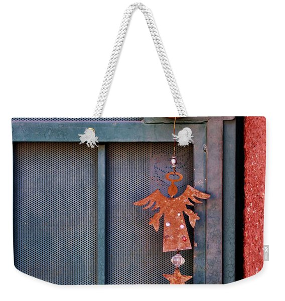 Angel At The Door Weekender Tote Bag