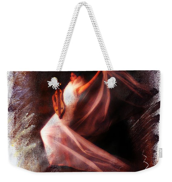 Ballet Angel Weekender Tote Bag
