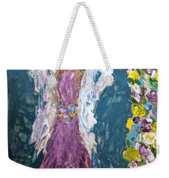 Angel Diva Weekender Tote Bag