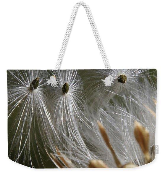Angel Down Weekender Tote Bag