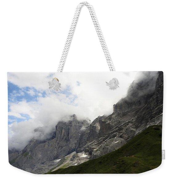 Angel Horns In The Clouds Weekender Tote Bag