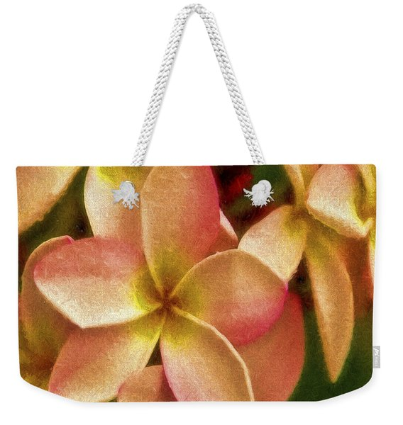 Angel In Bloom Weekender Tote Bag