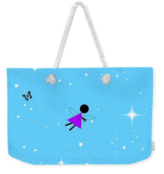 Angel In Flight Weekender Tote Bag