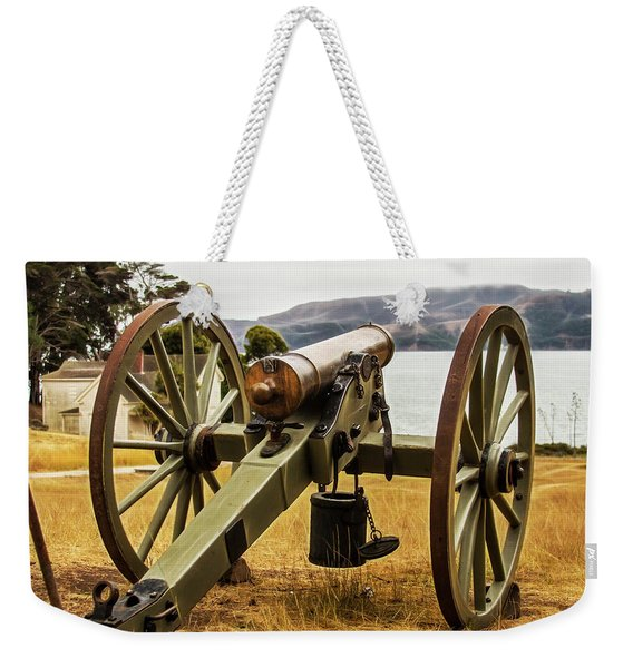 Angel Island Cannon Weekender Tote Bag